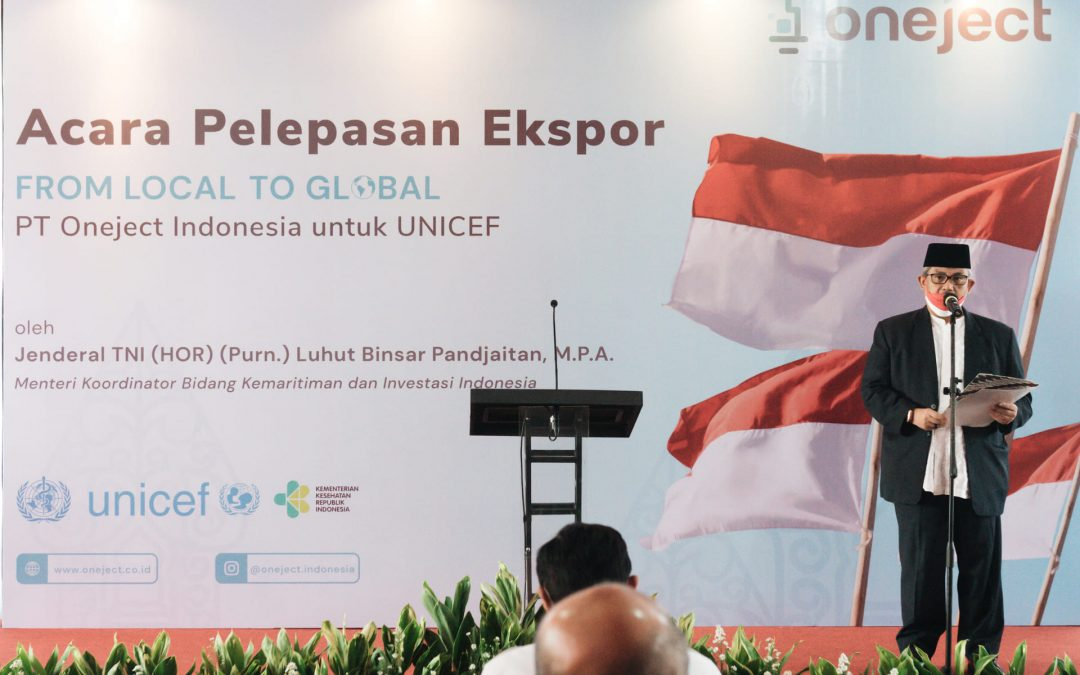 Indonesia Ekspor 150 Juta Alat Suntik ke Ukraina dan UNICEF